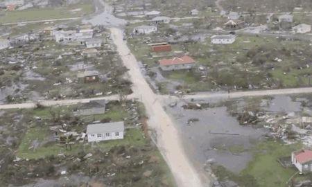 Sieu bao Irma do bo vao cac dao tai Caribe - Anh 1