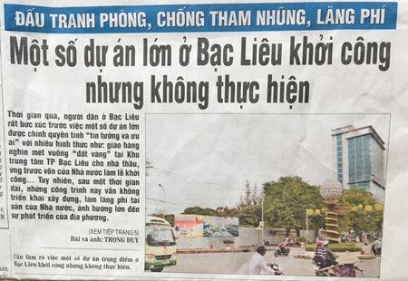 Bac Lieu chi dao xu ly nhung van de Bao Nhan Dan neu - Anh 1
