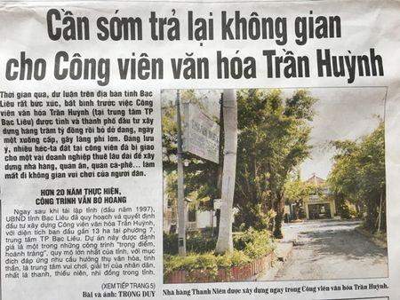 Bac Lieu chi dao xu ly nhung van de Bao Nhan Dan neu - Anh 2
