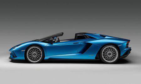 Lamborghini Aventador S Roadster - tuyet pham mui tran - Anh 2
