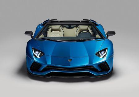 Lamborghini Aventador S Roadster - tuyet pham mui tran - Anh 3