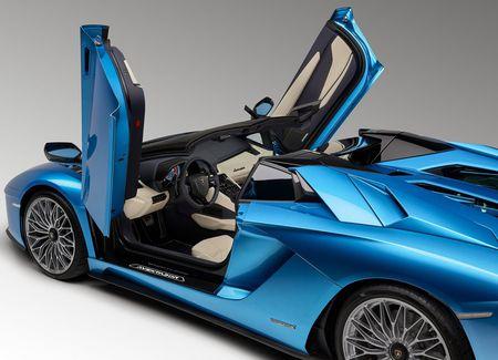 Lamborghini Aventador S Roadster - tuyet pham mui tran - Anh 5