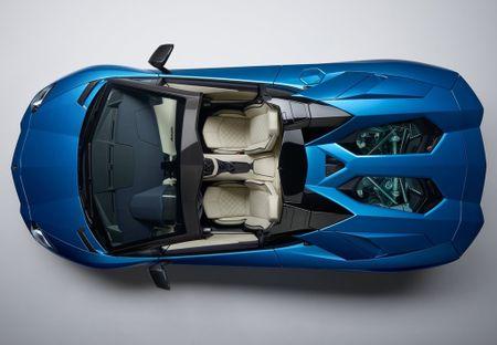 Lamborghini Aventador S Roadster - tuyet pham mui tran - Anh 6