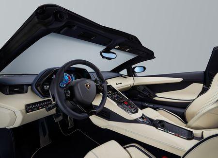 Lamborghini Aventador S Roadster - tuyet pham mui tran - Anh 7
