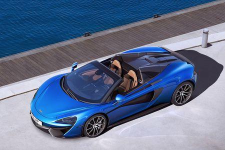 McLaren trinh lang 2 sieu pham Spider 570S va 720S - Anh 3