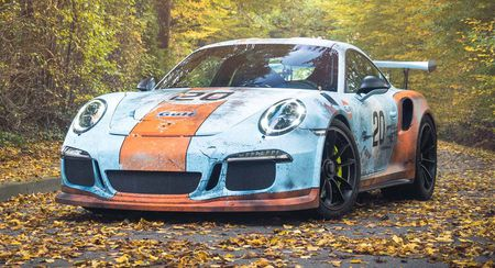 An tuong voi Porsche 911 GT3 RS trong 'bo canh' Gulf Racing - Anh 8