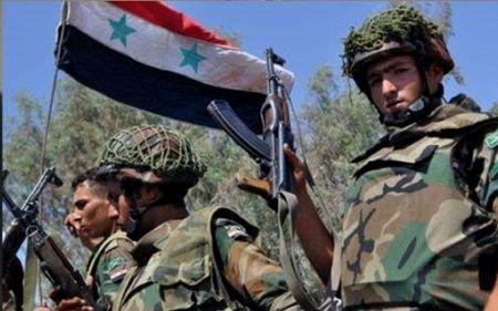 Quan doi Syria tuyen bo gianh chien thang lich su tai Deir Ezzor - Anh 1
