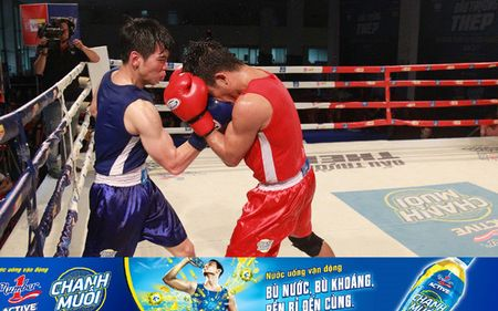 Tran thang knockout an tuong tai giai boxing tranh dai vo dich Number1 - Anh 1