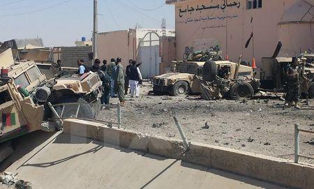 Afghanistan: Danh bom lieu chet vao doan ho tong quan su nuoc ngoai - Anh 1