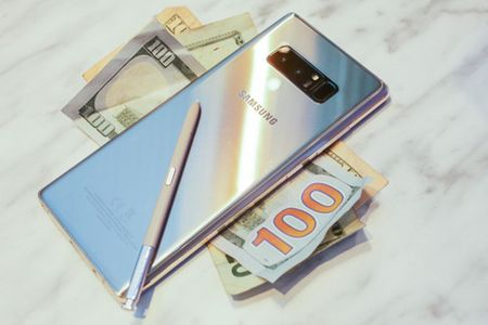 Chua len ke, nhung Galaxy Note 8 van co luong dat hang an tuong - Anh 1