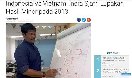 HLV U18 Indonesia lay lua Cong Phuong 'dan mat' U18 Viet Nam - Anh 2