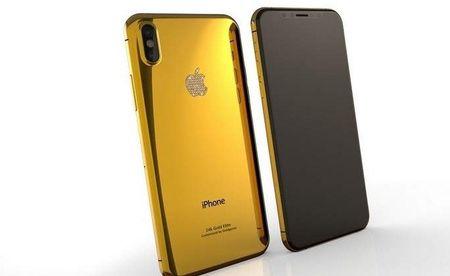Chiem nguong tan mat iPhone 8 phien ban ma vang cuc chat - Anh 3