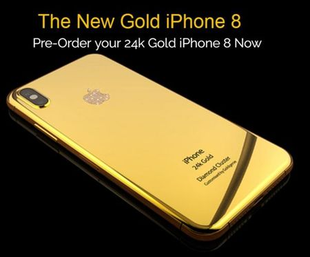 Chiem nguong tan mat iPhone 8 phien ban ma vang cuc chat - Anh 6