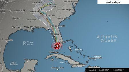 Kinh hoang sieu bao Irma tan pha bang Florida cua My - Anh 12