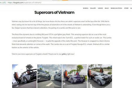 Bao Tay 'choang' voi McLaren va Lamborghini do khung tai VN - Anh 3