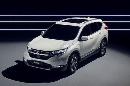 Honda 'nha hang' xe oto CR-V hybrid phien ban 2018 - Anh 2