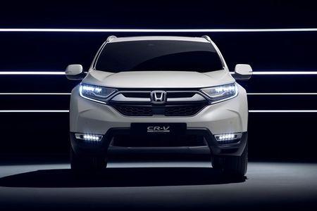 Honda 'nha hang' xe oto CR-V hybrid phien ban 2018 - Anh 6