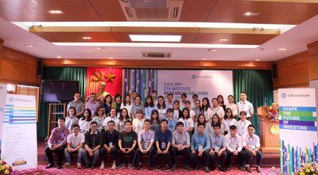 Cuoc thi Phan tich Dau tu 2017-2018 cua Vien CFA tai Viet Nam chinh thuc khoi tranh - Anh 1
