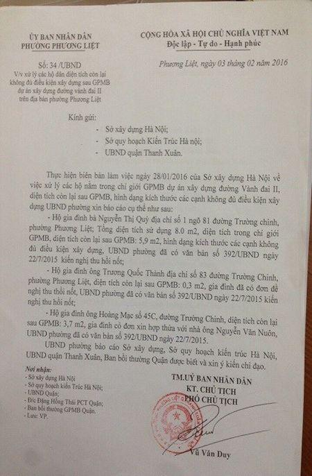 Ha Noi: Tai sao khong xu li duoc nha 'sieu mong, sieu meo 'tren pho Truong Chinh ? - Anh 2