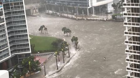 Sieu bao Irma xam chiem Florida, Miami bi nuoc bien nhan chim - Anh 1