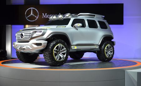 Mercedes-Benz GLB se ra mat vao nam 2019 - Anh 1