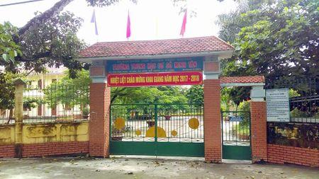 Hai Phong: Dinh chi cong tac Hieu truong de xac minh viec lam thu - Anh 1