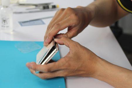 'Mo bung' Galaxy Note 8 dau tien tai Viet Nam - Anh 1