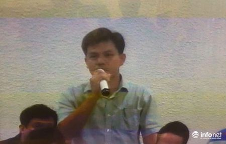 Dan lanh dao Loc dau Dung Quat trinh dien tai toa de cuu TGD OceanBank nhan mat - Anh 1