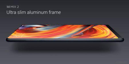 Xiaomi trinh lang Mi Mix 2: man 6 inch vien cuc mong, ty le 18:9, Snapdragon 835 va 8GB RAM - Anh 4