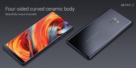 Xiaomi trinh lang Mi Mix 2: man 6 inch vien cuc mong, ty le 18:9, Snapdragon 835 va 8GB RAM - Anh 5