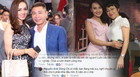 Bi to chanh choe, Bao Thanh lay MC Thao Van ra dan mat ban gai Cong Ly - Anh 1