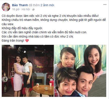 Bi to chanh choe, Bao Thanh lay MC Thao Van ra dan mat ban gai Cong Ly - Anh 5