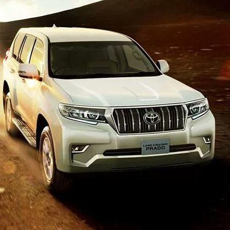 Toyota Land Cruiser Prado 2018 lo anh thuc te truoc gio G - Anh 7