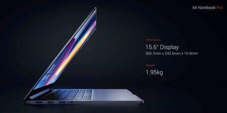 Xiaomi ra mat laptop Mi NoteBook Pro: chip Intel the he 8, card do hoa MX150, gia tu 860 USD - Anh 3