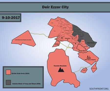 'Ho Syria' chu cong danh chiem chot chien luoc IS tai Deir Ezzor - Anh 1