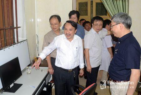 Trung tam Y te Nam Dan huong tro thanh ve tinh Benh vien Bach Mai - Anh 1