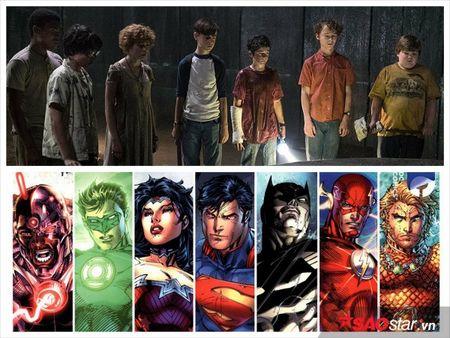 Fan phat hien su giong nhau giua '7 anh chi em sieu nhan' trong 'Chu he ma quai' va 'Justice League' - Anh 12