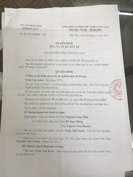Coc Chang - Bac Kan: Sap xet xu vu an tranh chap mo quang - Anh 1