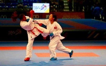 Nguyen Thi Ngoan di vao lich su mon karatedo Viet Nam voi tam HCV the gioi - Anh 1