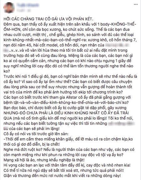 Le Thuy, Thieu Bao Tram va dan mang len tieng benh vuc Cao Ngan truoc loi de biu 'om nhu bo xuong di dong' - Anh 2