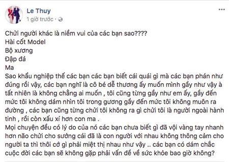 Le Thuy, Thieu Bao Tram va dan mang len tieng benh vuc Cao Ngan truoc loi de biu 'om nhu bo xuong di dong' - Anh 4
