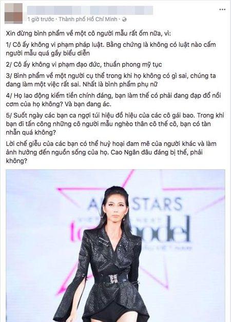 Le Thuy, Thieu Bao Tram va dan mang len tieng benh vuc Cao Ngan truoc loi de biu 'om nhu bo xuong di dong' - Anh 6
