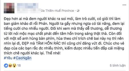 Le Thuy, Thieu Bao Tram va dan mang len tieng benh vuc Cao Ngan truoc loi de biu 'om nhu bo xuong di dong' - Anh 7