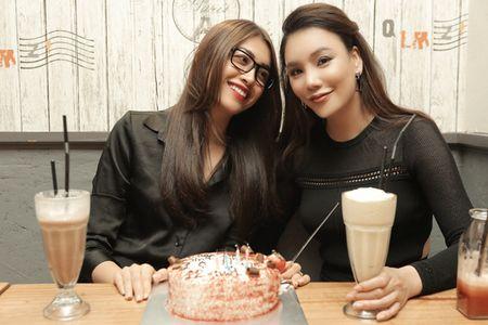 Ho Quynh Huong lam sinh nhat 'chay' cho Le Hang - Anh 1