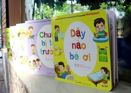 Day tre ki nang song bang phuong phap Montessori - Anh 1