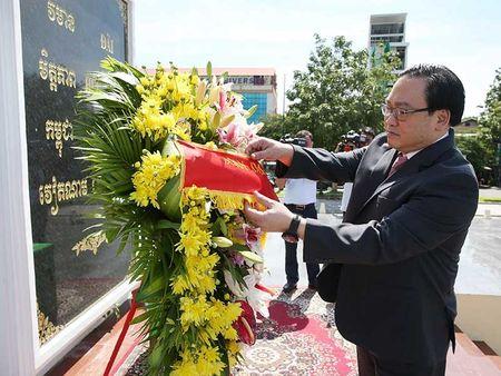Campuchia luon coi trong moi quan he toan dien voi VN - Anh 2