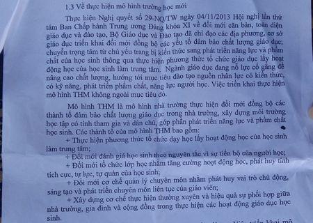 Bo VNEN sang hoc mo hinh giong... VNEN - Anh 4