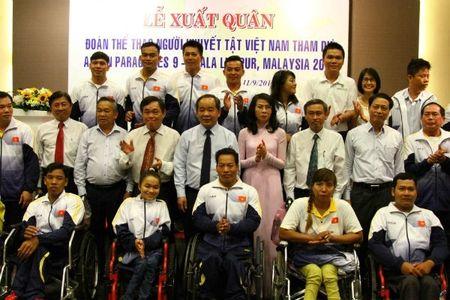 Doan the thao nguoi khuyet tat Viet Nam xuat quan du Para Games 9 - Anh 1