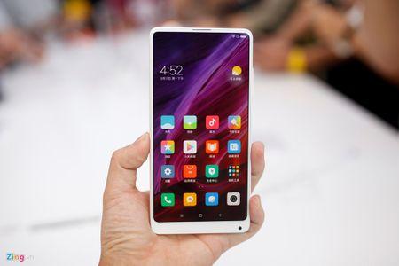 Anh Xiaomi Mi Mix 2: Thiet ke khong vien, hoan thien cao - Anh 9