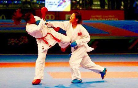 Karatedo Viet Nam gianh huy chuong vang lich su o giai the gioi - Anh 1